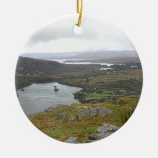 Lago Glanmore del paso Irlanda de Healy Redondo Adornos De Navidad