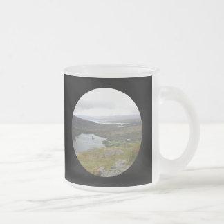 Lago Glanmore del paso Irlanda de Healy Redondo Taza De Café