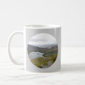 Lago Glanmore del paso Irlanda de Healy Redondo Tazas De Café