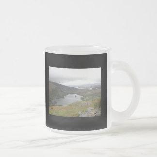 Lago Glanmore del paso Irlanda de Healy Taza De Cristal