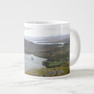 Lago Glanmore del paso Irlanda de Healy Tazas Extra Grande