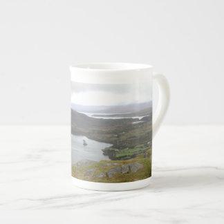 Lago Glanmore del paso Irlanda de Healy Tazas De Porcelana