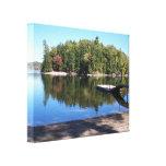 Lago grande 2, Maine sebago Impresión En Lienzo Estirada