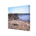 Lago grande 3, Maine sebago Impresión En Lona
