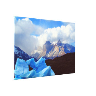 lago grey canvas print