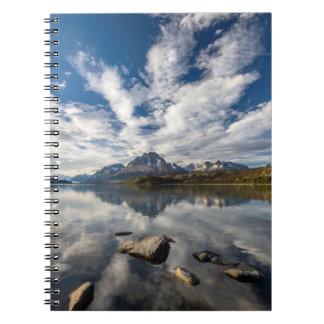 Lago Grey. Cordillera del Paine 1 Spiral Notebook