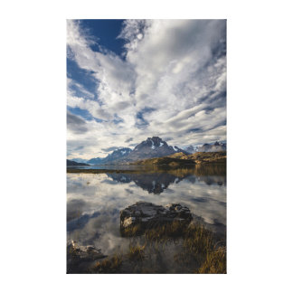 Lago Grey. Cordillera del Paine 2 Canvas Print