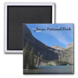 Lago Grinnell - Parque Nacional Glacier Imán Cuadrado