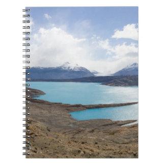 Lago Guillermo & Upsala Glacier Spiral Notebook