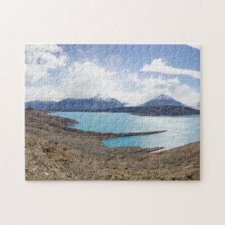 Lago Guillermo y glaciar de Upsala Puzzles