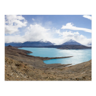 Lago Guillermo y glaciar de Upsala Tarjetas Postales