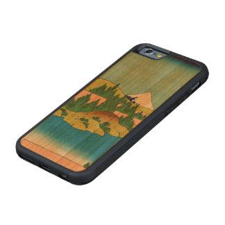 Lago Hakone en la provincia de Sagami Funda De iPhone 6 Bumper Cerezo