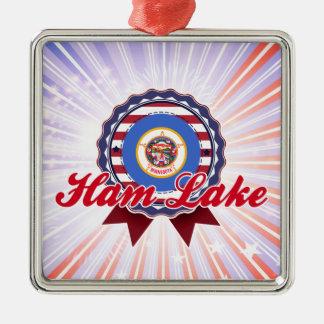 Lago ham, manganeso ornamento para arbol de navidad
