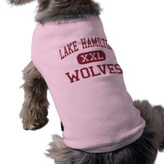 Lago Hamilton - lobos - joven - Pearcy Arkansas Playera Sin Mangas Para Perro