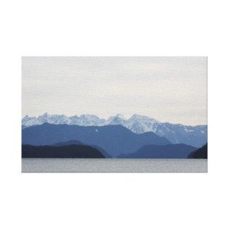 Lago Harrison de la bahía de 20 millas A.C. Impresión En Lienzo