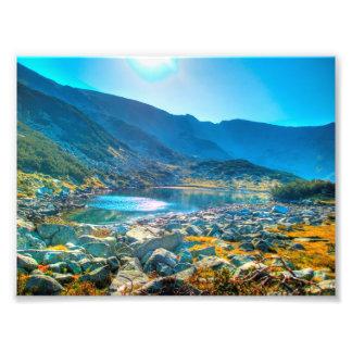 Lago HDR mountain Arte Fotografico