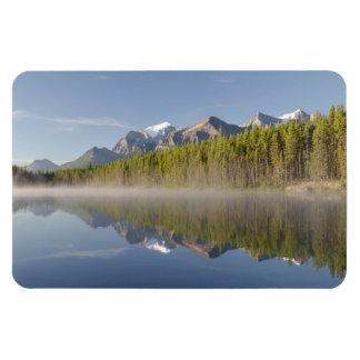 Lago herbert en la ruta verde Alberta Canadá de Imán De Vinilo