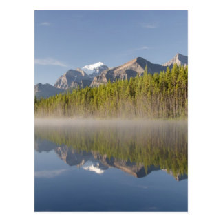 Lago herbert en la ruta verde Alberta Canadá de Postales