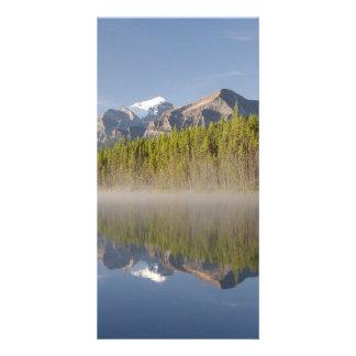 Lago herbert en la ruta verde Alberta Canadá de Tarjetas Fotograficas Personalizadas