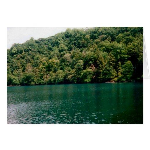 Lago hillside felicitacion