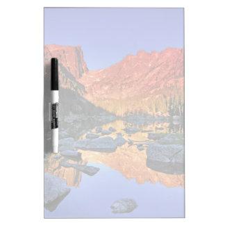 Lago ideal tableros blancos