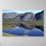 Lago innomado en gama de los arroyos poster