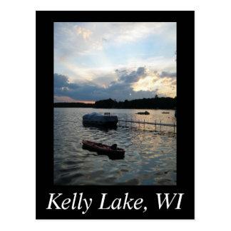 Lago kelly tarjetas postales