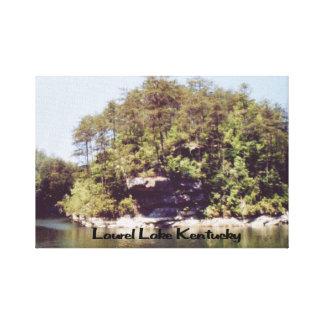 Lago Kentucky laurel Impresion En Lona