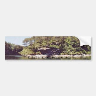 Lago Kentucky laurel Pegatina Para Auto