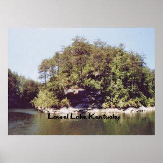Lago Kentucky laurel Póster