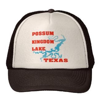 Lago kingdom del oposum, Tejas Gorras