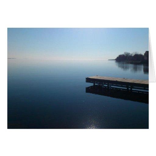 Lago kingston, Ontario Tarjetón