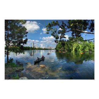 Lago ladybird/horizonte 3 de Austin Tejas Arte Fotográfico
