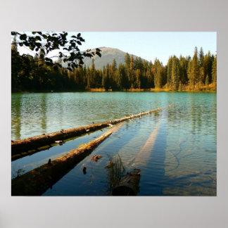 Lago Larson Kanada-Poster