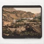 Lago Loppio, Garda, lago de, vintage Photoch de It Alfombrillas De Raton