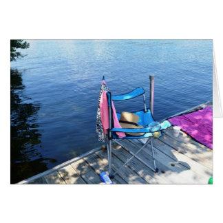 Lago Lovell, Wakefield, NH Tarjeta De Felicitación