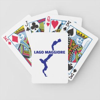 Lago Maggiore Bicycle Playing Cards
