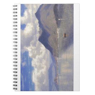 Lago Maggiore by William Haseltine Spiral Notebook