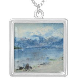 Lago Maggiore Collar Plateado