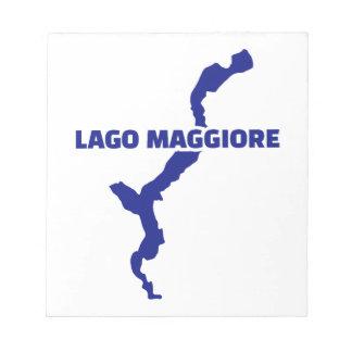 Lago Maggiore Memo Note Pad