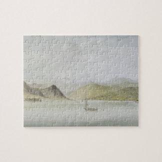 Lago Maggiore (w/c, pen, ink and graphite on paper Puzzle