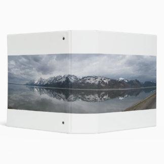 "Lago magnífico Tetons Jackson Carpeta 2"""