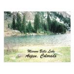 Lago marrón bells, Aspen Tarjeta Postal