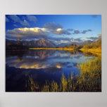 Lago Maskinonge en el parque nacional 3 de los lag Póster