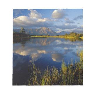 Lago Maskinonge en parque nacional de los lagos Wa Bloc De Papel