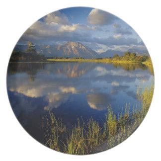Lago Maskinonge en parque nacional de los lagos Wa Plato De Cena