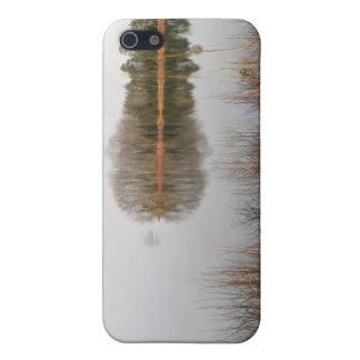 Lago mayo iPhone 5 fundas