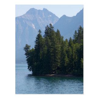 Lago Mcdonald en el Parque Nacional Glacier Montan Postales