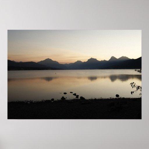 Lago McDonald Impresiones