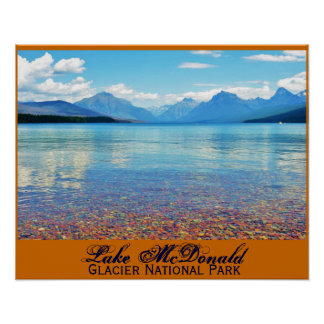 Lago McDonald Póster
